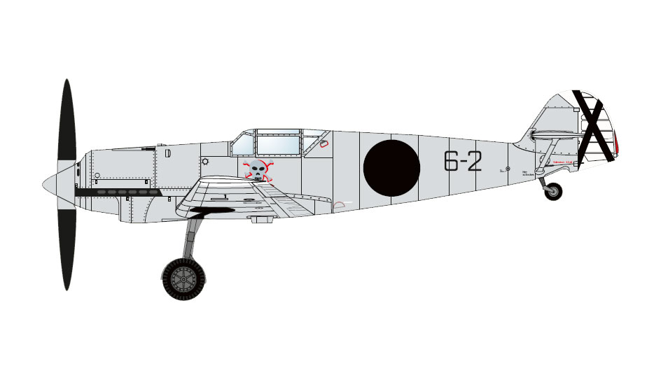 Messerschmitt Bf 109A Spanish