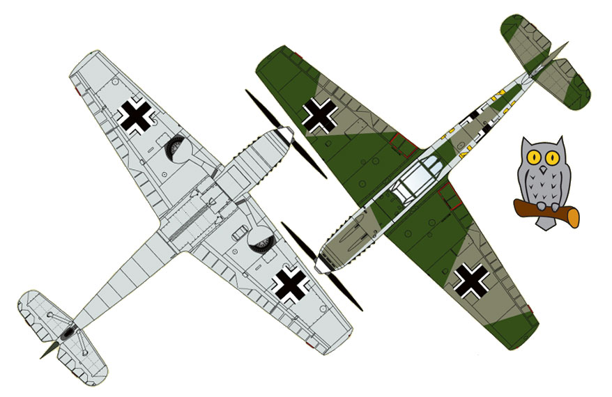 Messerschmitt Bf 109D German 02