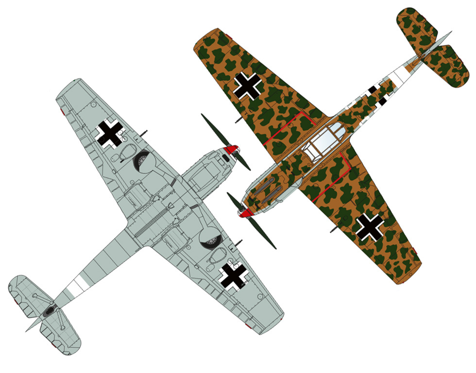 Messerschmitt Bf 109E-4 Tropical