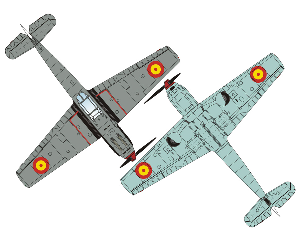 Messerschmitt Bf 109E-1 Spanish