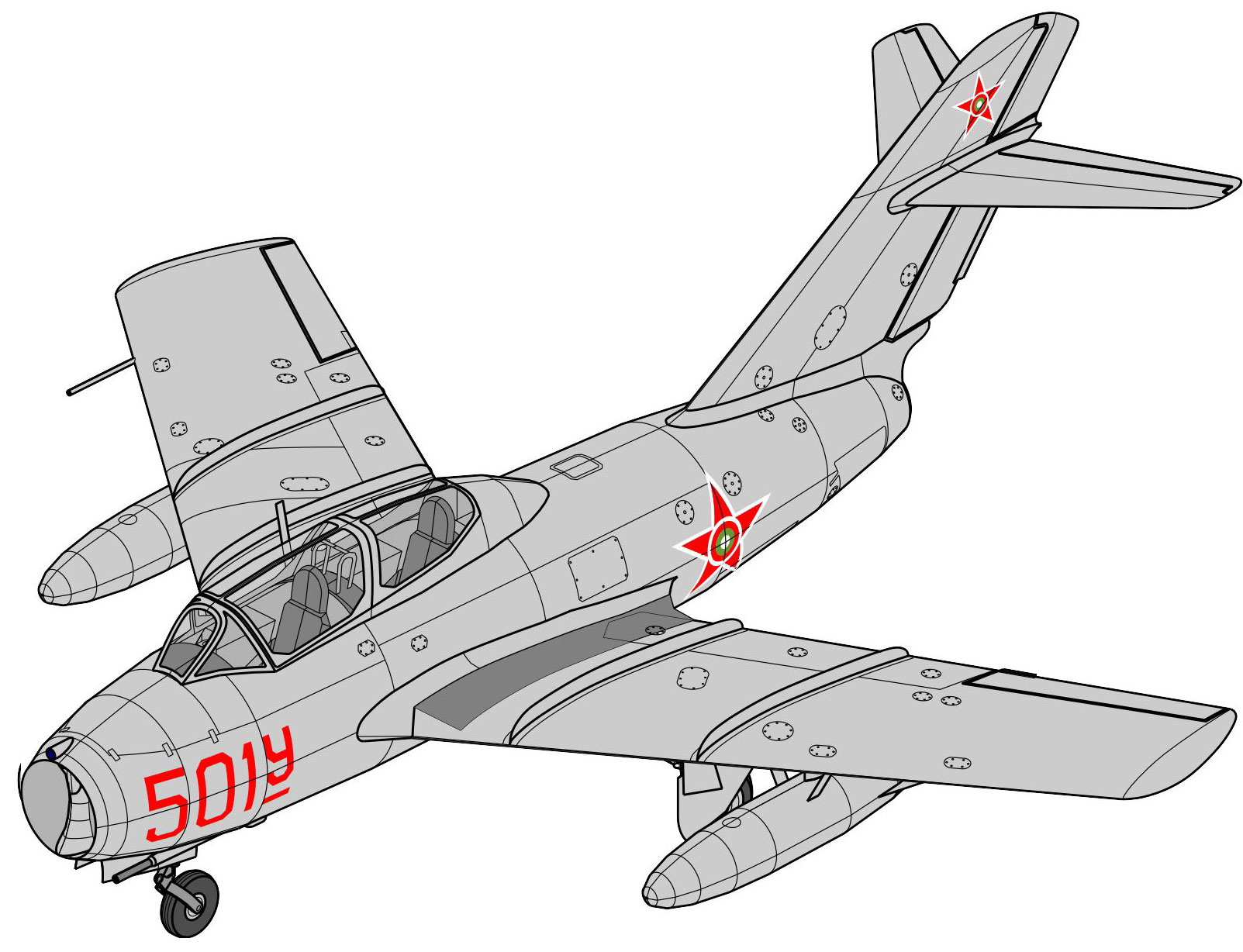 MiG-15 UTI Bulgarian Air Force