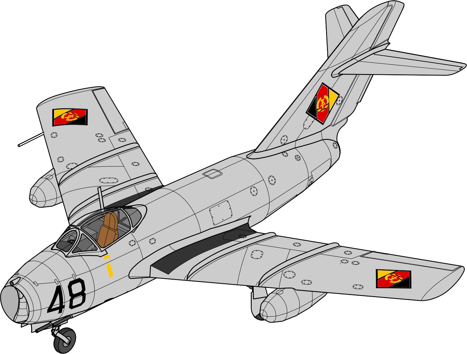MiG-15 BIS DDR Air Force