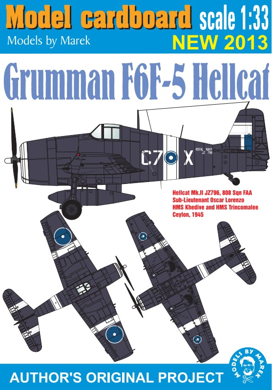 Grumman F6F-5 Hellcat, Great Britain (v.1)