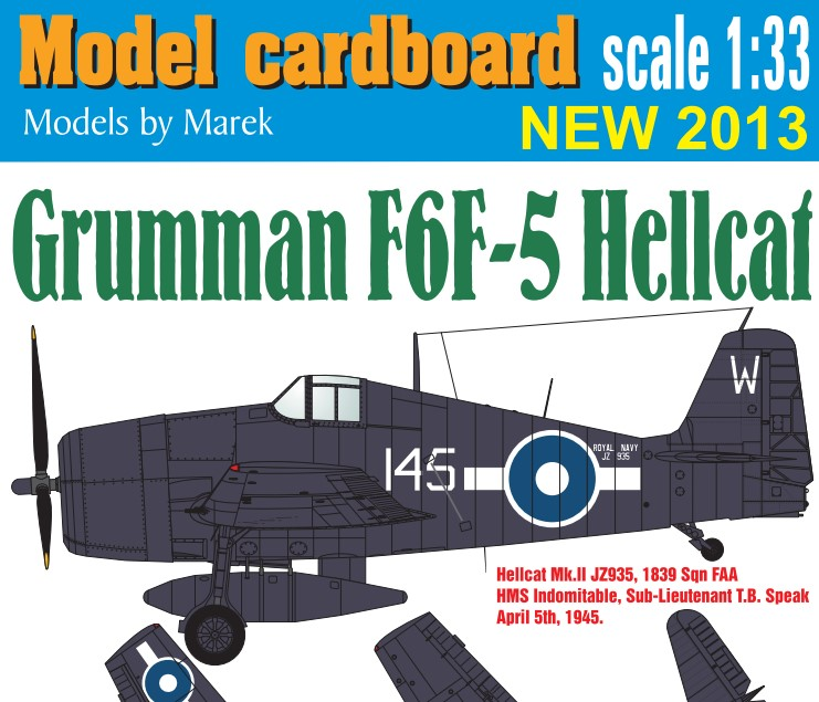 Grumman F6F-5 Hellcat, Great Britain (v.2)