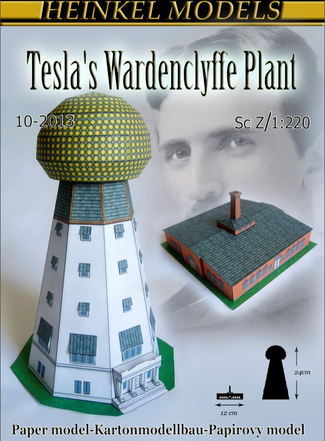Tesla's Wardenclyffe Tower & Plant