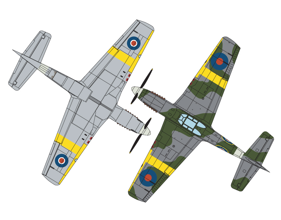 P-51A Mustang Mk I