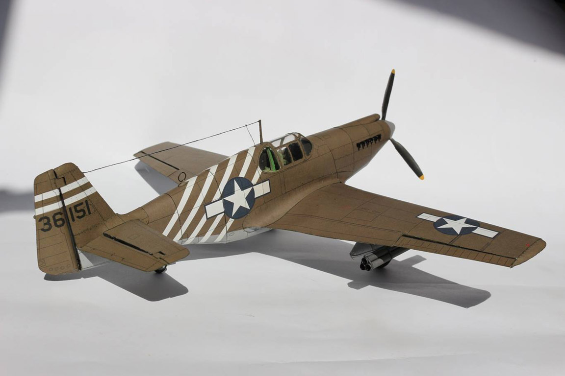 P-51A-5 Mustang Barbie
