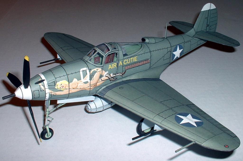 модель из бумаги h-39 airocobra emil zarkov