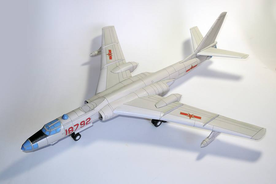 Tupolev Tu-16 Badger - Chinese Xian Hy-6