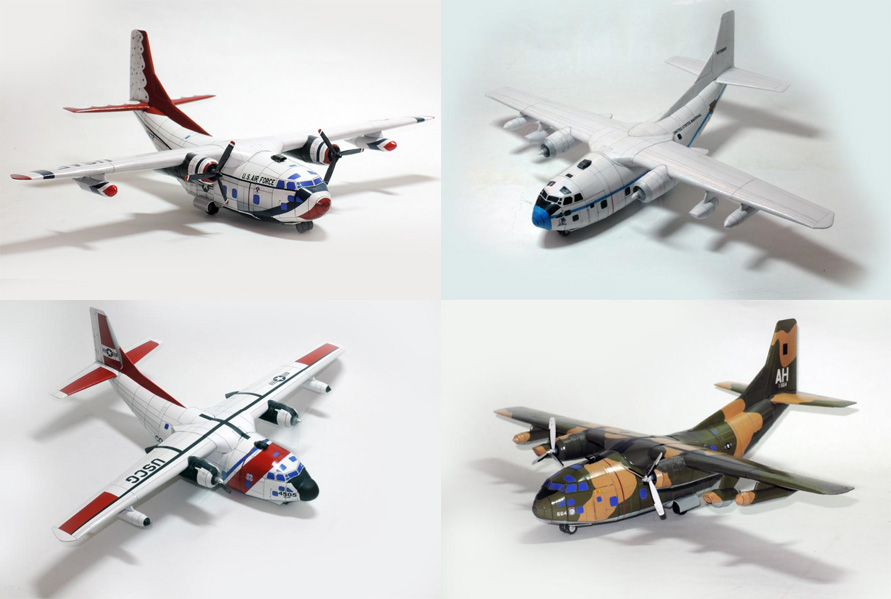 BUNDLE: 1/35 Fairchild C-123 Provider (4 models)
