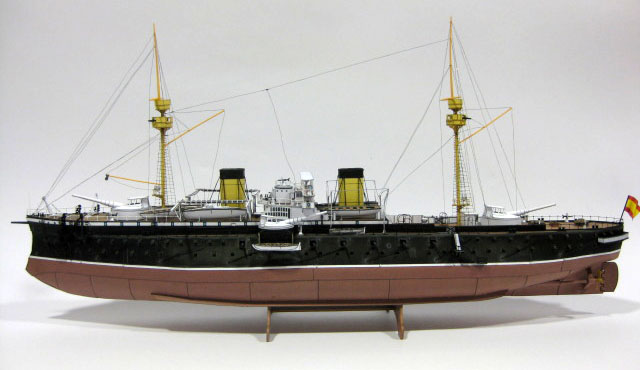 Spanish Battleship Pelayo by Fernando Pérez Yuste :: Heinkel