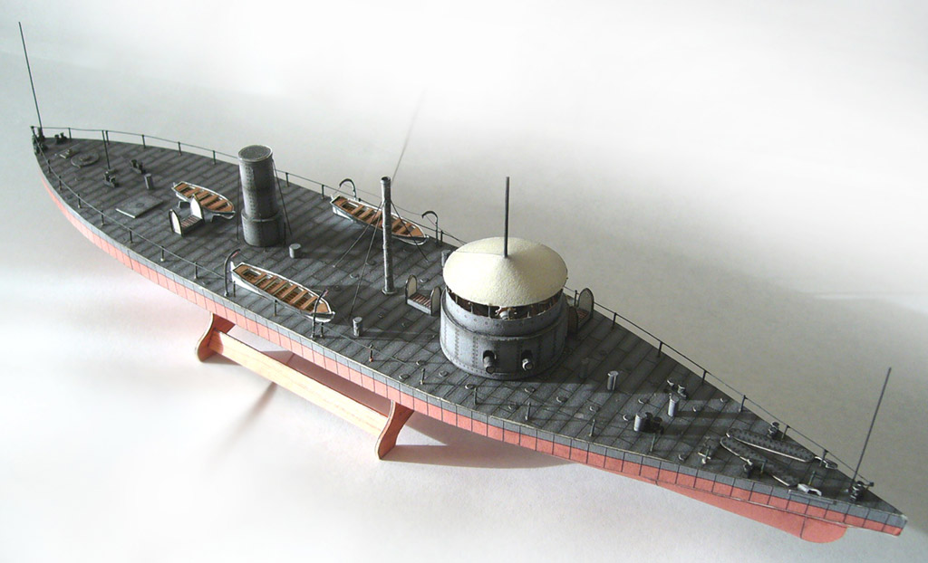 USS Tecumseh by Fernando Pérez Yuste :: Heinkel Models