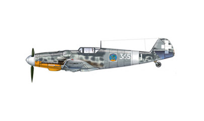 Messerschmitt Bf 109 G-6/R3 Italy - Fascists