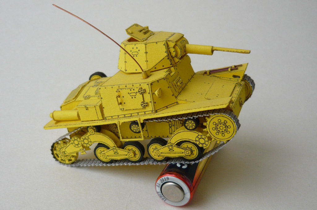 Fiat L6/40 Carro Armato (Armored Tank) - Yellow