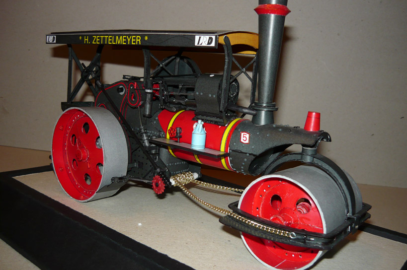 1/25 H. Zettelmeyer Steam Roller