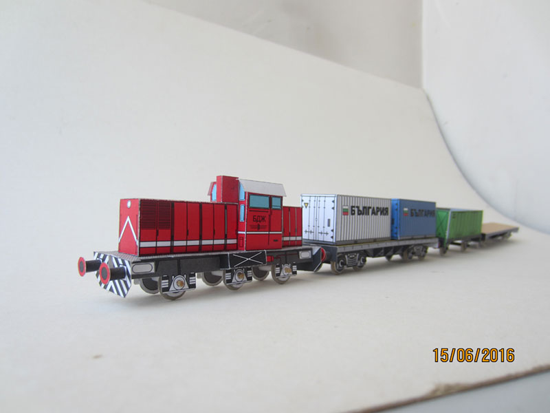 Red Train Set