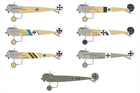 BUNDLE: The Fokker E.III 1/72