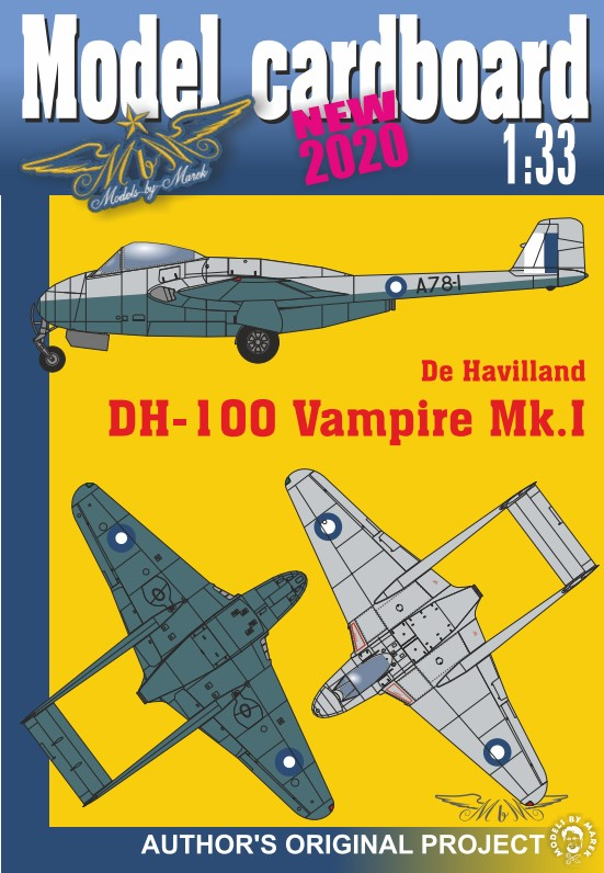 de Havilland DH-100 Vampire BUNDLE