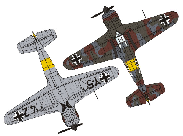 Bloch MB.152 - Luftwaffe