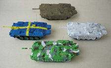 BUNDLE: Stridsvagn Strv 103C (4 models)